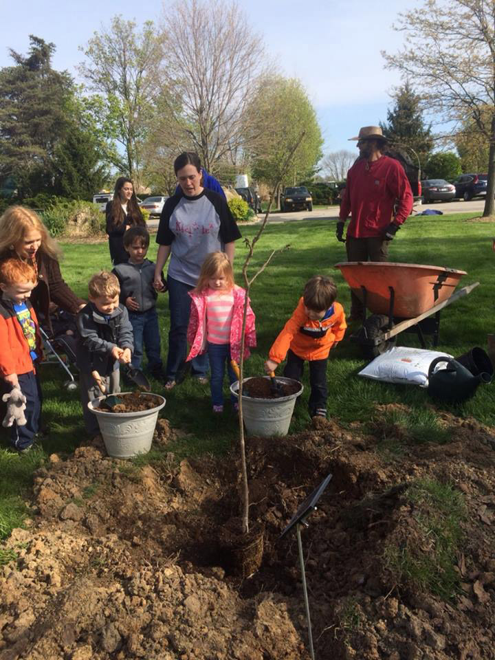 Kid Angles - Tree Planting for Arbor Day