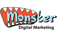 Monster Digital Marketing and Website Logo